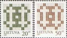 Lietuva Litauen 1997 Mi. Nr. 647-648I Defintiv