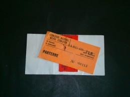 BRUXELLES - CIRQUE ROYAL - CONCERT EDDY MITCHELL LE 6/5/94 - Eintrittskarten