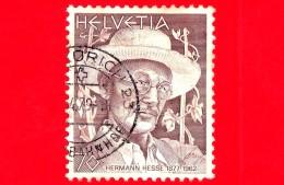 SVIZZERA - Usato - 1979 - Hermann Hesse (1877-1962), Scrittore - 70 - Gebraucht