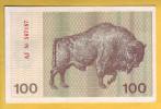 LITUANIE - Billet De 100 Talonas. (Bison). 1991. Pick: 38b. NEUF - Lithuania