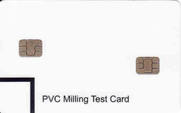 PVC Milling Test Chip Karte - Unclassified