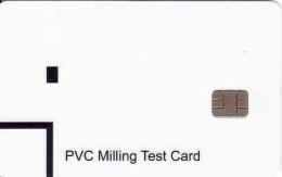 PVC Milling Test Chip Karte - Ohne Zuordnung