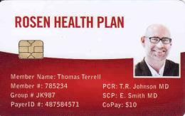 Rosen Health Plan, Chip + Magnetic Karte, Different Chip - Ohne Zuordnung