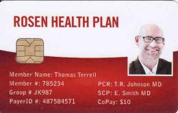 Rosen Health Plan, Chip + Magnetic Karte, Different Chip - Andere Sammlungen