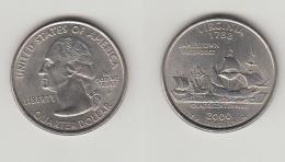 QUARTER  DOLLAR - 2000 P - VIRGINIA - Emissioni Federali
