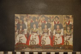 CP, Folklore, Costumes, Alsace, Elsassische Bauernspinnstube   Edition Felix Luib      Couturiere Couture Rouet - Folklore
