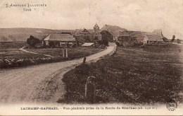 07 LACHAMP-RAPHAËL  Vue Générale Prise De La Route De Mézilhac - France