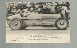 - **Raymond SOMMER , Gagne Le GRAND PRIX De COMMINGES En 1935 - Rallyes