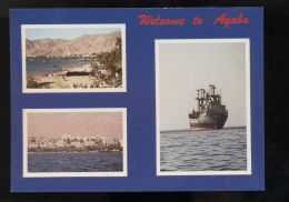 T161 GEETNGS FROM AGABA - Jordanien