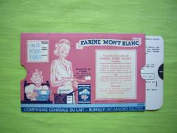 Pub à Système Farine & Lait Mont Blanc Convertisseur Pour Bébé âge Poids Taille Biberon - Advertising