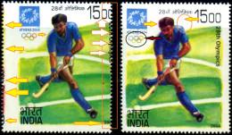 FIELD HOCKEY-ATHENS OLYMPICS-MASSIVE ERROR-SCARCE-INDIA-2004-MNH-TP-268 - Summer 2004: Athens - Paralympic