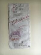 889 - Suisse Vaud Philos L'Ami Domaine Des Caillettes Bex 50 Cl - Etiquettes