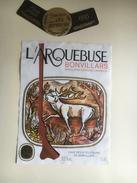 897 - Suisse Vaud Bonvillars  L'Arquebuse 1995 Chasse - Etiquettes