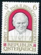 Österreich - Michel 1749 - ** Postfrisch (E) - Papstbesuch Johannes Paul II. - 1945-.... 2ª República