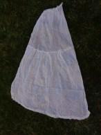 Jupon Pour Folklore Ou Robe De Mariee Idem A Des Rideaux 48cm Hauteur 110 Cm - Habits & Linge D'époque