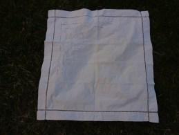 Taie D'oreiller Monogramme B     67x67cm - Draps/Couvre-lits
