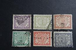 Nederlans Indie  NVPH 40 ,41 , 42 , 43 , 46 , 47 - Niederländisch-Indien
