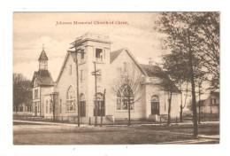 CPA Etats Unis ELKTON Johnson Memorial Church Of Christ  1919 - Etats-Unis
