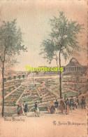 CPA ILLUSTRATEUR M. COLLETTE LE JARDIN BOTANIQUE 1829 - Forêts, Parcs, Jardins