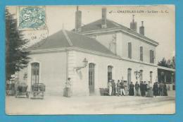 CPA 45 - Chemin De Fer - La Gare CHATELAILLON 41 - Otros Municipios