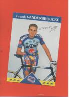 EQUIPE MAPEI FRANCK VANDENBROUCKE - Cyclisme