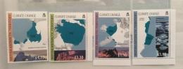 British Antarctic Territory -2009 Sclimate Change Set And Sheet Mnh - British Antarctic Territory  (BAT)