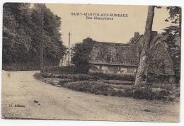 CPA 76 SAINT MARTIN AUX BUNEAUX DES CHAUMIERES - France