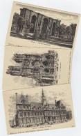 REIMS: Série De 5 Cartes PUB Du Champagne Léon Chandon, Illustration Recto/ Verso - Reims