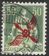ERSTE Flugmarke 1919: Zu Nr 2 Mi 145 Yv PA2 Mit O BASEL ?.IV.20  (Zu CHF 200.00) - Luftpost