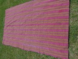 Rideau De  Portiere-linge Ancien Haut 2 Metres Larg 119cm Pour Confection De Robe De Poupee - Habits & Linge D'époque