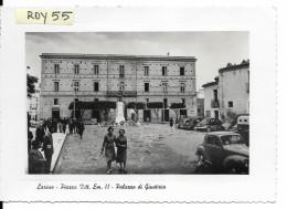 Molise-campobasso-larino Piazza Vittorio Emanuele II Palazzo Di Giustizia Veduta Animatissima Anni 40/50 - Italia