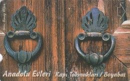 Turkey, N-255, Anatolion Houses - Door Knocks, Boyabat, 2 Scans. - Turquie