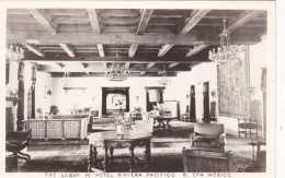 RP: Lobby , Hotel Riviera Pacifico. B. CFA. Mexico , 20-40s - Mexico