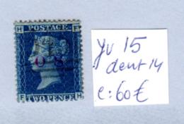 Reine Victoria, 15 Ob, Cote 65 € - 1840-1901 (Regina Victoria)