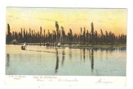 CPA  Mexique  MEXICO - Lago De Xochimilco  Lac De Xochimilco Pescadores De Barcos Pêcheurs Sur Des Barques - Mexique