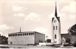 DEUTSCHLAND - Allemagne  Germany - LÖHNE BAHNHOF ( Westfalen ) Ev. Luth. Matthäus-Kirche Mahnen - CPSM N/B PF 1969 - Lohne