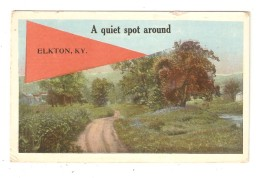CPA  Etats Unis ELKTON A Quiet Spot Arond Elkton - Etats-Unis