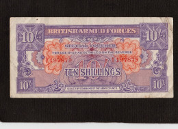 Billet - British Armed Forces - Spécial Voucher - Ten Shillings - B/5 - 197879 - - Sonstige