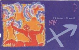 Turkey, N-286, Zodiac, Yay - Sagittarius, 2 Scans. - Turquie