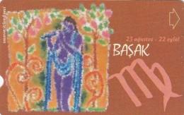 Turkey, N-283, Zodiac, Basak - Virgo, 2 Scans. - Turquie