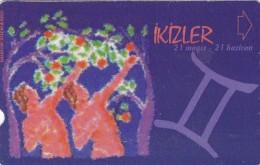 Turkey, N-280, Zodiac, Ikizler - Gemini, 2 Scans. - Turquie