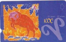 Turkey, N-278, Zodiac, Koc - Aries, 2 Scans. - Turquie