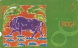 Turkey, N-279, Zodiac, Boga - Taurus, 2 Scans. - Turquie