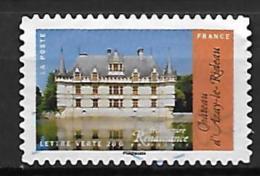 1116 - Architecture Renaissance : Château D'Azay-le-Rideau - France