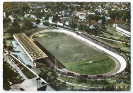 Cpsm Bon Etat , 10.5x15cm , Valenciennes , Le Stade Nungesser , Vue Aerienne , Timbre Courrier Voir Verso - Valenciennes