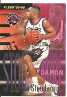 CARD NBA FLEER '95-'96 STOUDAMIRE  N° 416 - Trading Cards