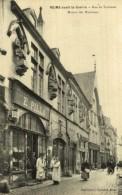 REIMS  AVANT LA GUERRE RUE DE TAMBOUR MAISON DES MUSICIENS - Reims