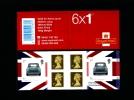 GREAT BRITAIN - SELF-ADHESIVE BOOKLET 6 X 1st  MINI  MINT NH  PM 17 - Libretti