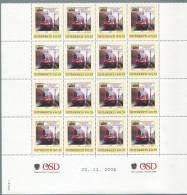 ÖSTERREICH / PM Nr. 8003447 / BSV Linzer Eisenbahner Nr. 2 / 16 Stück / Postfrisch / **
