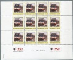 ÖSTERREICH / PM Nr. 8007836 / 1. Fahrt Der LILO Am Linz Hbf / 12 Stück / Postfrisch / MNH / ** - Österreich